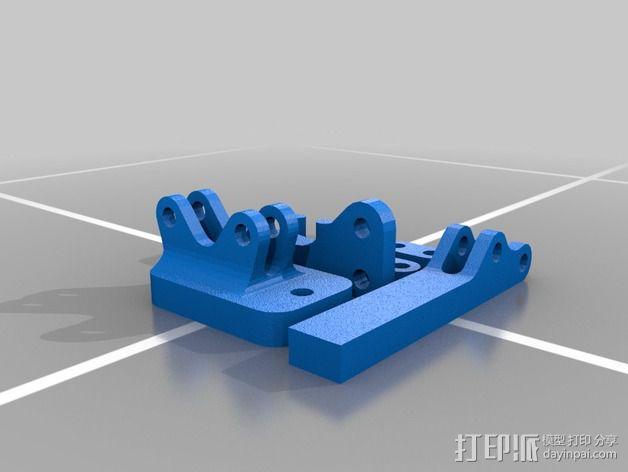 肘节夹 3D模型  图8