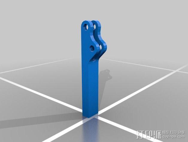 肘节夹 3D模型  图7