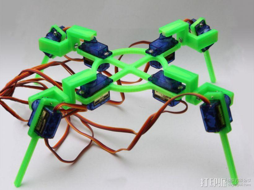 四脚机器人  3D模型  图1
