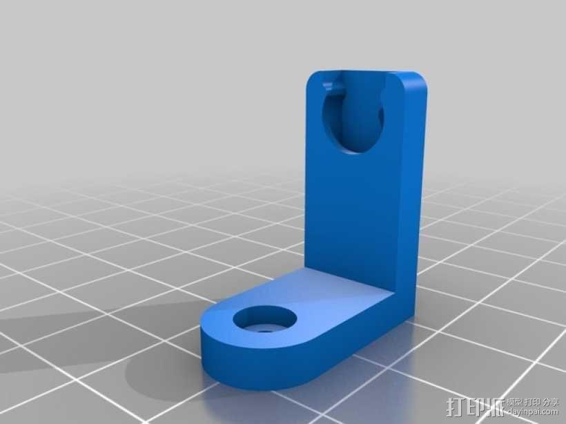 四脚机器人  3D模型  图2