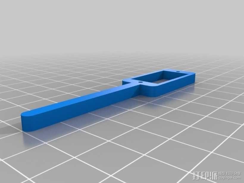 四脚机器人  3D模型  图3