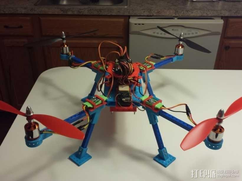 无人机 3D模型  图1