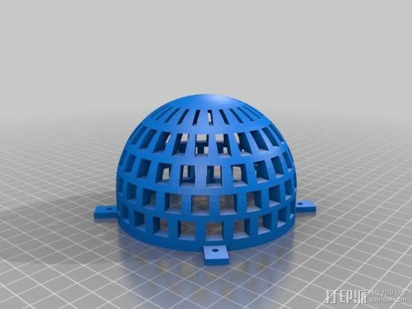 无人机 3D模型  图3