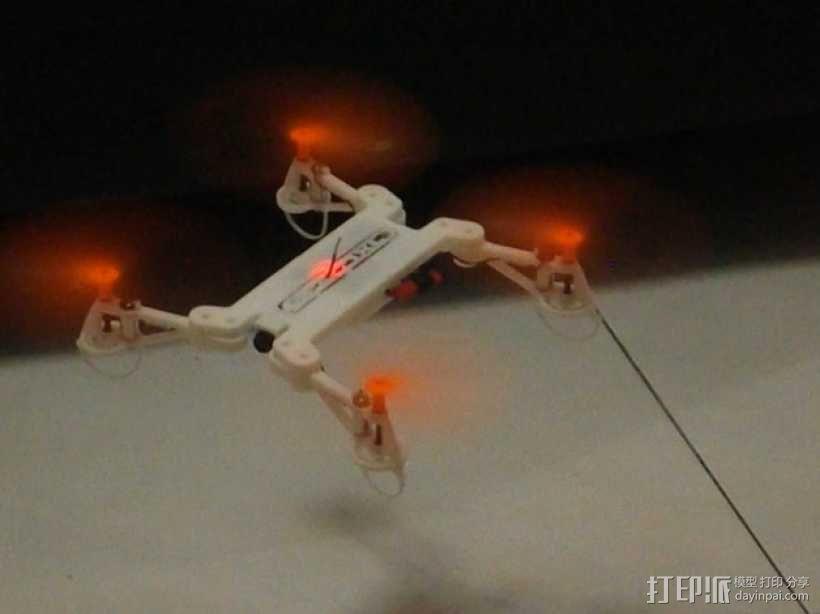 四轴飞行器框架 3D模型  图2