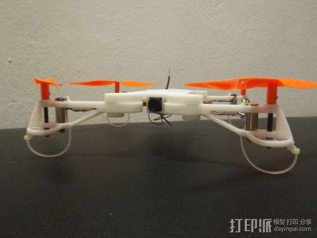 四轴飞行器框架 3D模型  图17