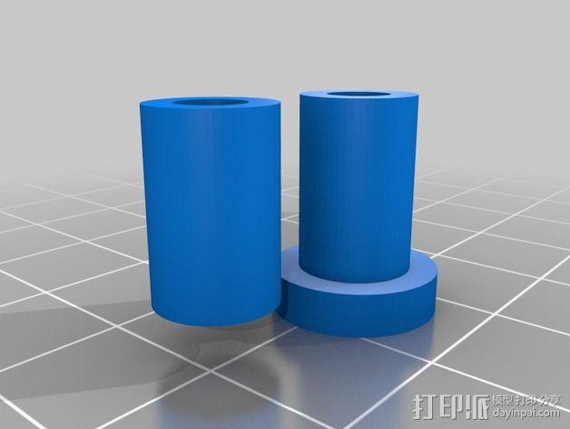 四轴飞行器框架 3D模型  图27