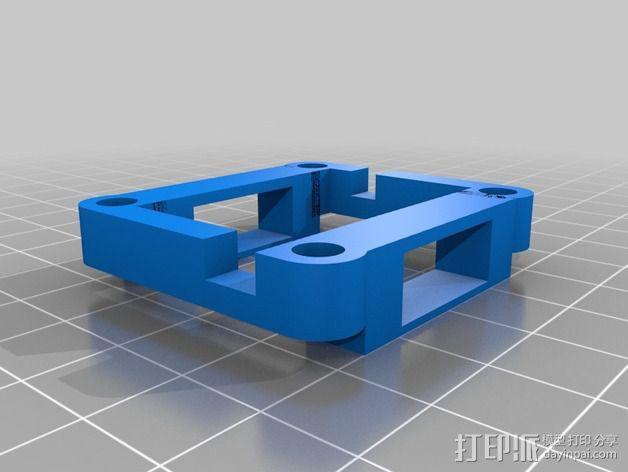 四轴飞行器框架 3D模型  图28