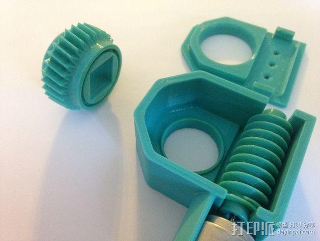 蜗轮驱动电源组 3D模型  图3