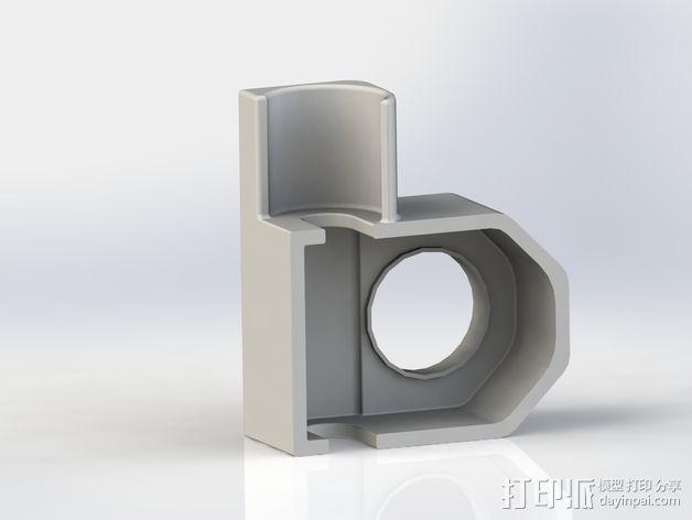蜗轮驱动电源组 3D模型  图7