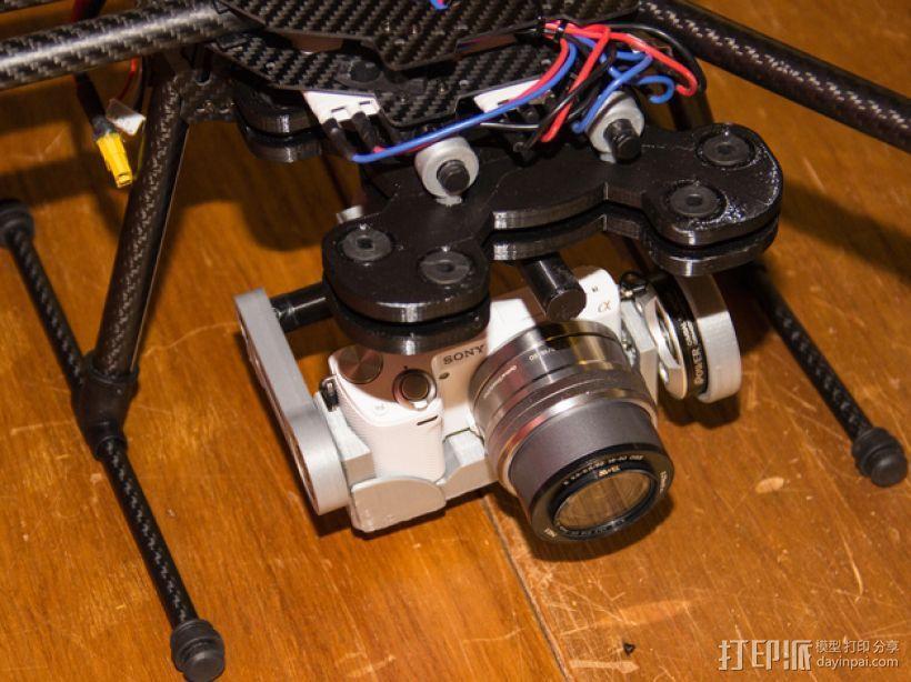 索尼相机常平架 3D模型  图8