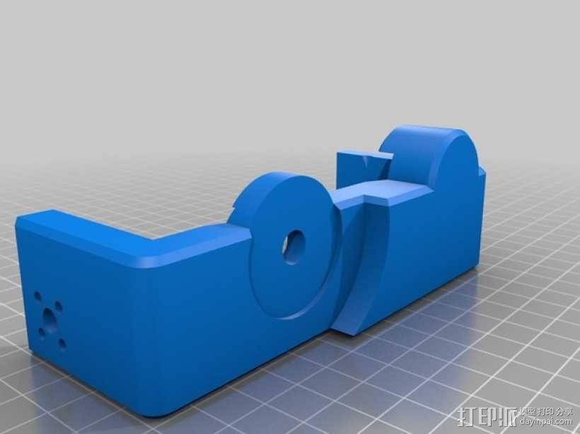 索尼相机常平架 3D模型  图10