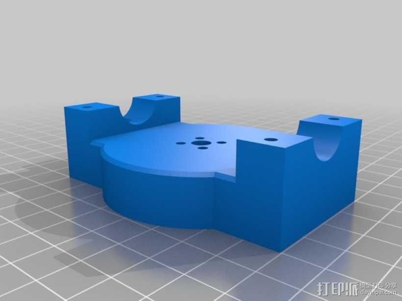 索尼相机常平架 3D模型  图13