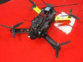 四轴飞行器相机固定架 3D模型