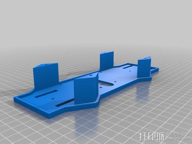 四轴飞行器相机固定架 3D模型  图5