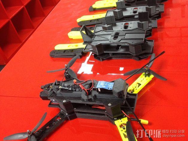四轴飞行器相机固定架 3D模型  图11