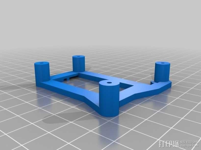 Arduino Uno电路板支架 3D模型  图2