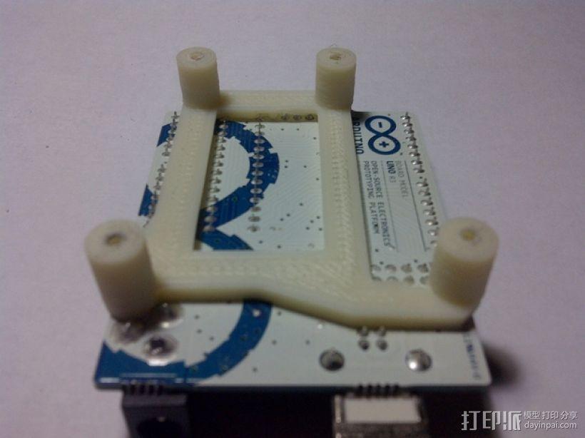 Arduino Uno电路板支架 3D模型  图6