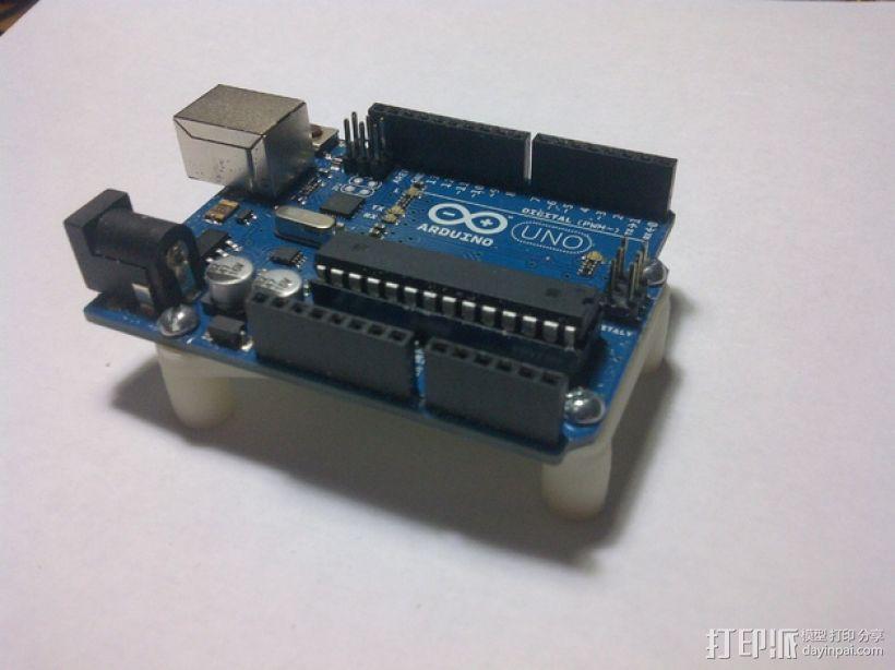 Arduino Uno电路板支架 3D模型  图7