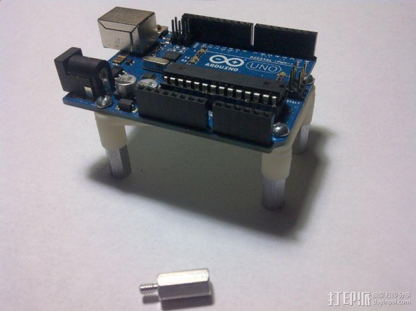 Arduino Uno电路板支架 3D模型  图8
