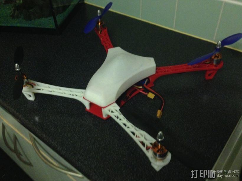 Spyda 500四轴飞行器 3D模型  图1