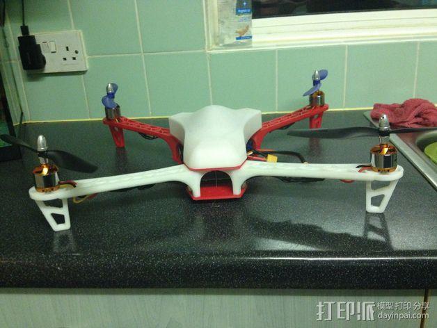 Spyda 500四轴飞行器 3D模型  图9
