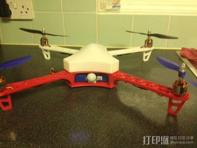 Spyda 500四轴飞行器 3D模型  图10