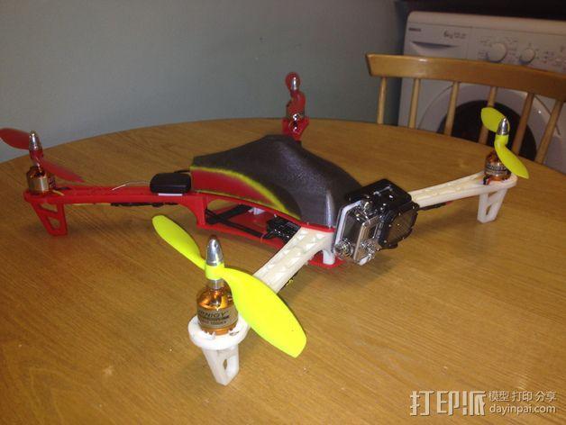 Spyda 500四轴飞行器 3D模型  图13