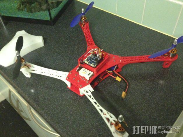 Spyda 500四轴飞行器 3D模型  图11