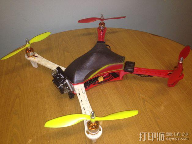 Spyda 500四轴飞行器 3D模型  图14