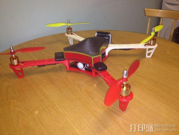 Spyda 500四轴飞行器 3D模型  图15