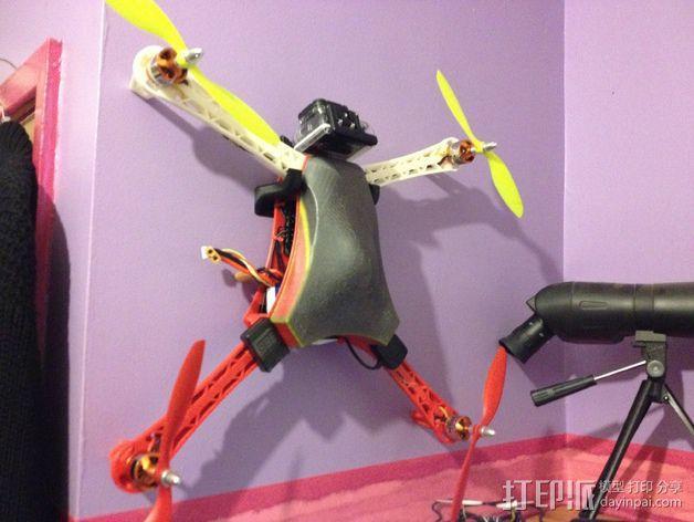 Spyda 500四轴飞行器 3D模型  图16