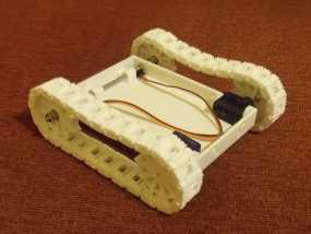 履带机器人  3D模型