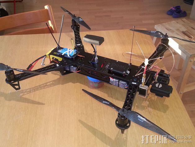 Mobuis HD相机常平架 3D模型  图5
