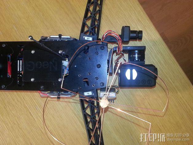 Mobuis HD相机常平架 3D模型  图8