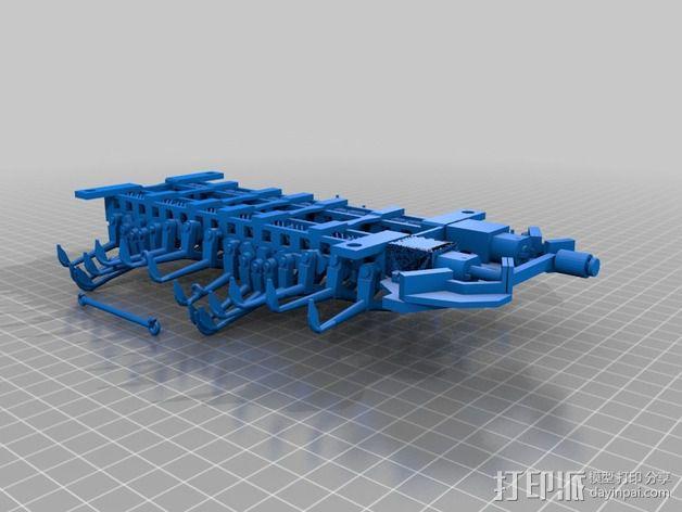 Shellmo开源机器人 3D模型  图4
