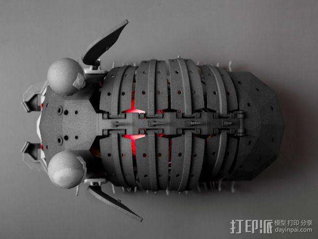 Shellmo开源机器人 3D模型  图6
