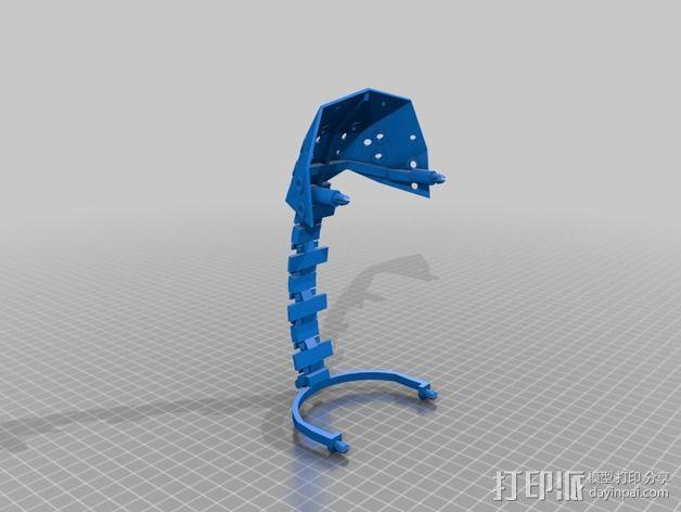 Shellmo开源机器人 3D模型  图13