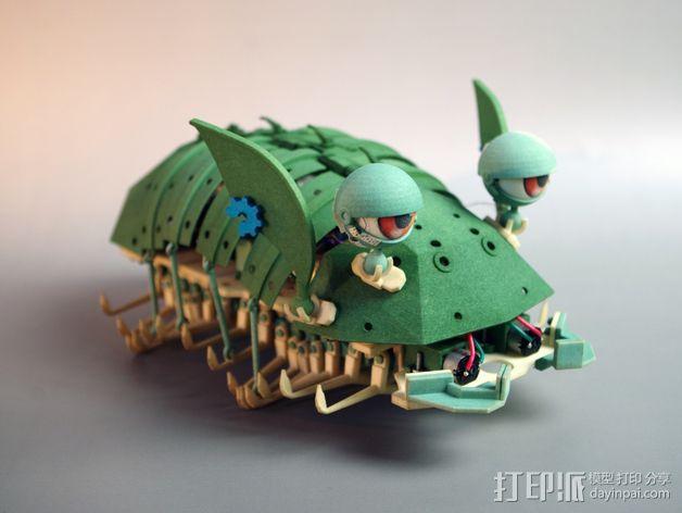 Shellmo开源机器人 3D模型  图12