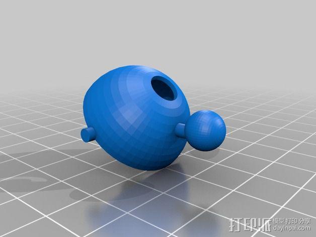 Shellmo开源机器人 3D模型  图18