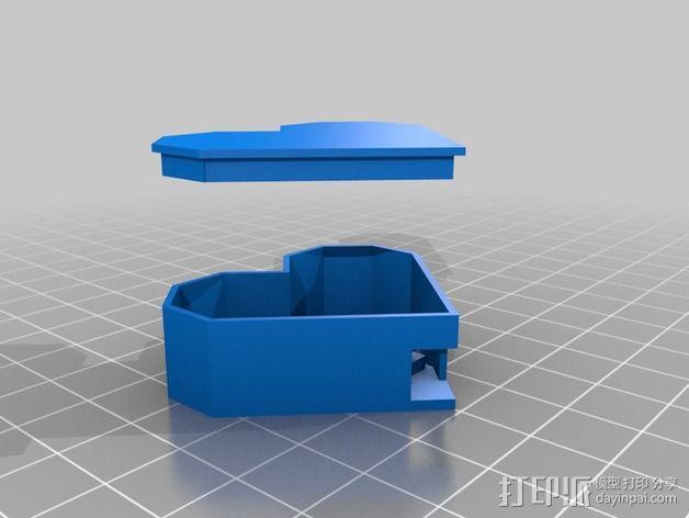 Shellmo开源机器人 3D模型  图23