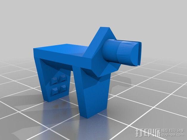 Shellmo开源机器人 3D模型  图24