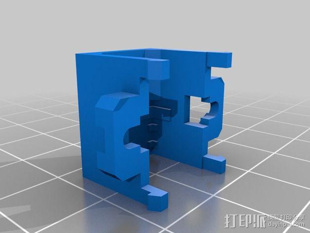 Shellmo开源机器人 3D模型  图32
