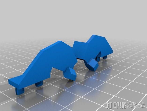Shellmo开源机器人 3D模型  图33