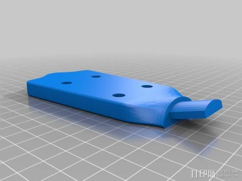 尤克里里琴 3D模型  图5