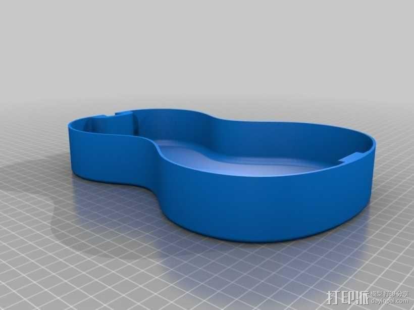尤克里里琴 3D模型  图7
