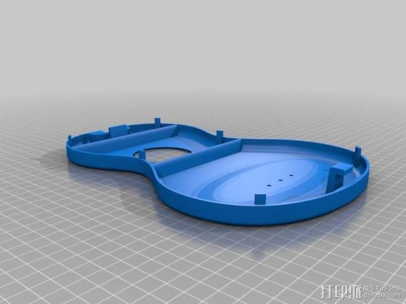 尤克里里琴 3D模型  图6