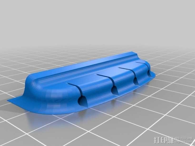 尤克里里琴 3D模型  图8