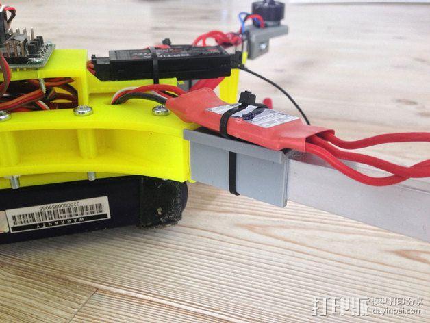 """""""蜂鸟2号""""四轴飞行器 3D模型  图2"""
