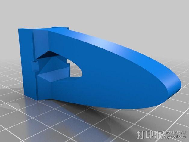 """""""蜂鸟2号""""四轴飞行器 3D模型  图7"""