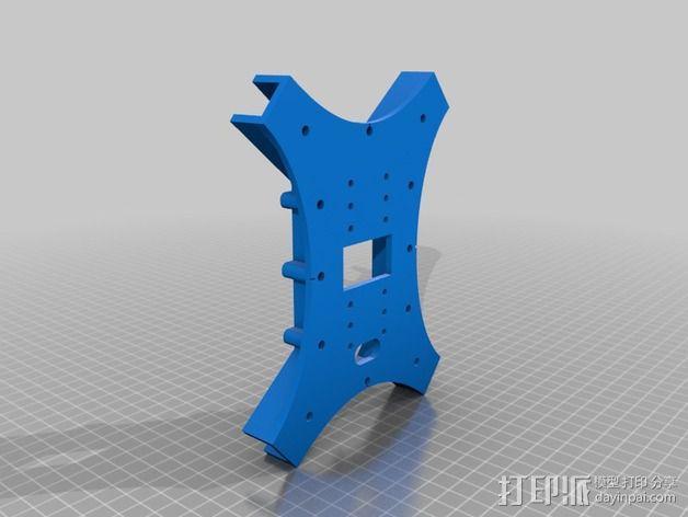 """""""蜂鸟2号""""四轴飞行器 3D模型  图9"""